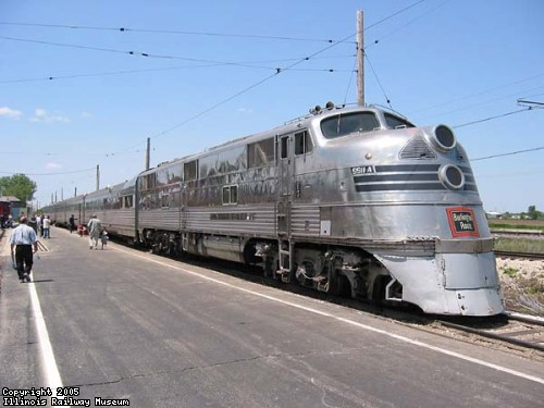 Nebraska Zephyr at the Illinois Railway Museum