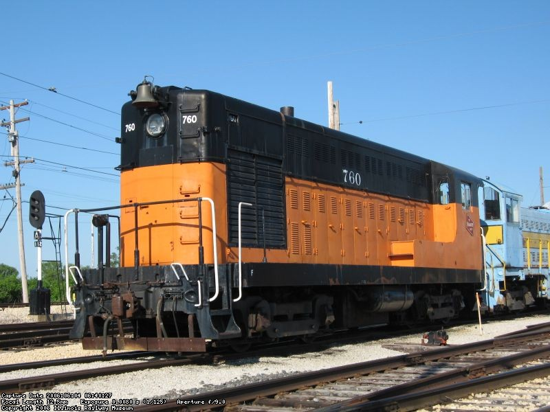 MILW 760 *Used as MoW ballast loco...*