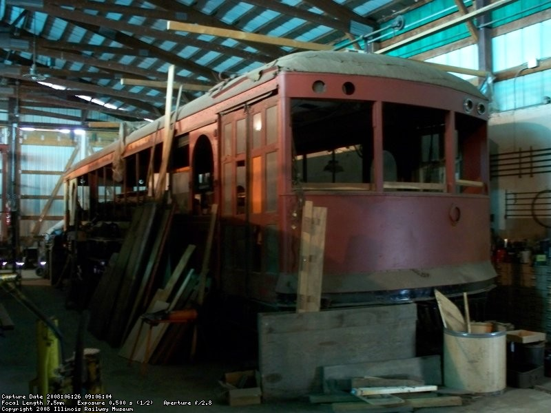 In storage - June 2008