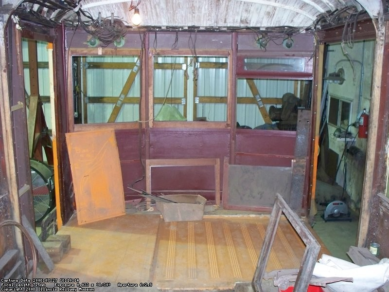 Interior - smoker end - July 2008