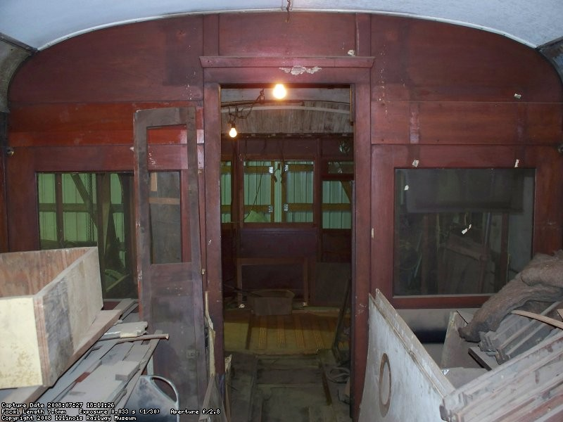 Interior - bulkhead - July 2008