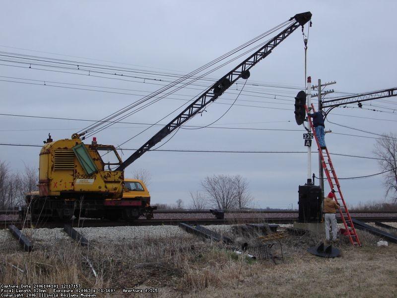 Hanging signal 332