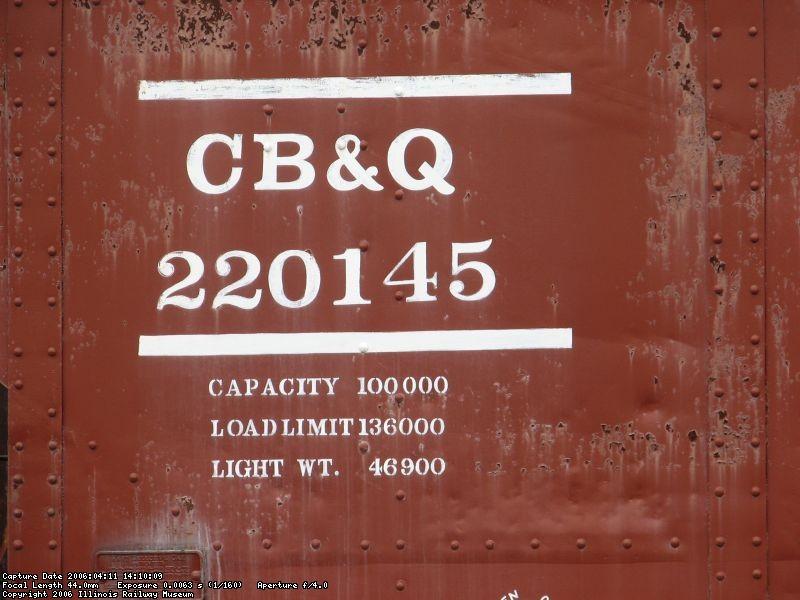 CB&Q 220145