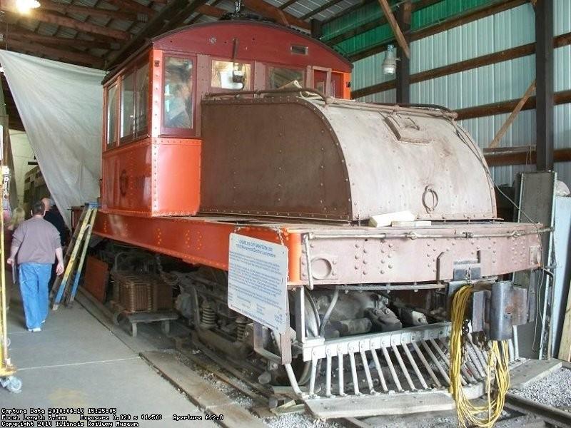 Under restoration - April 2010