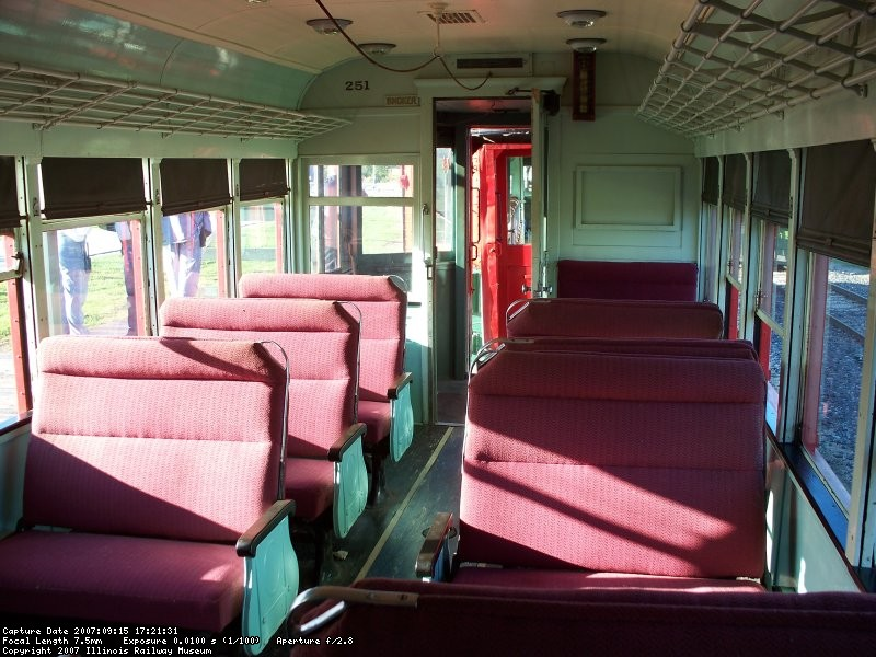 Interior - passenger compartment