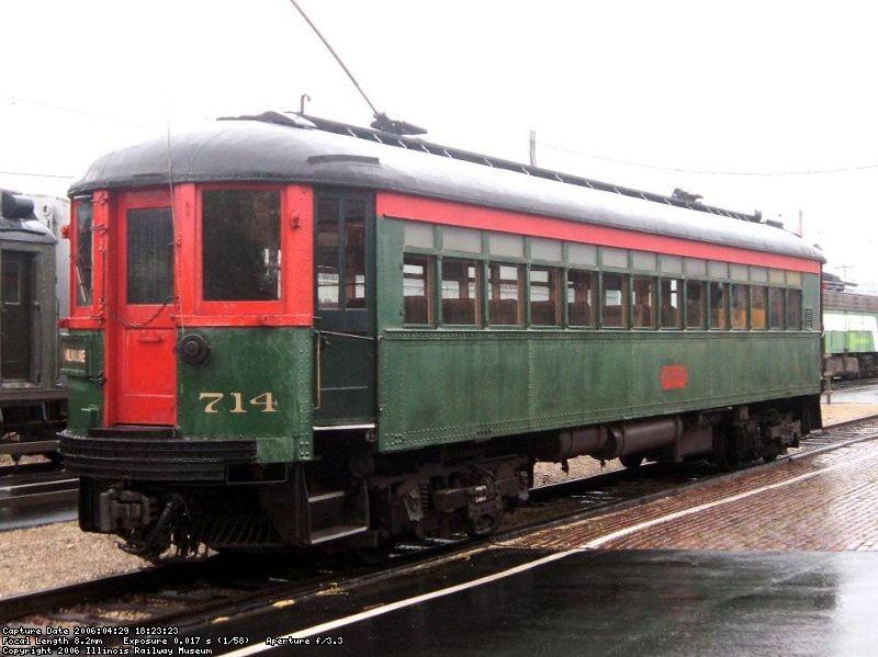 In service - April 2006
