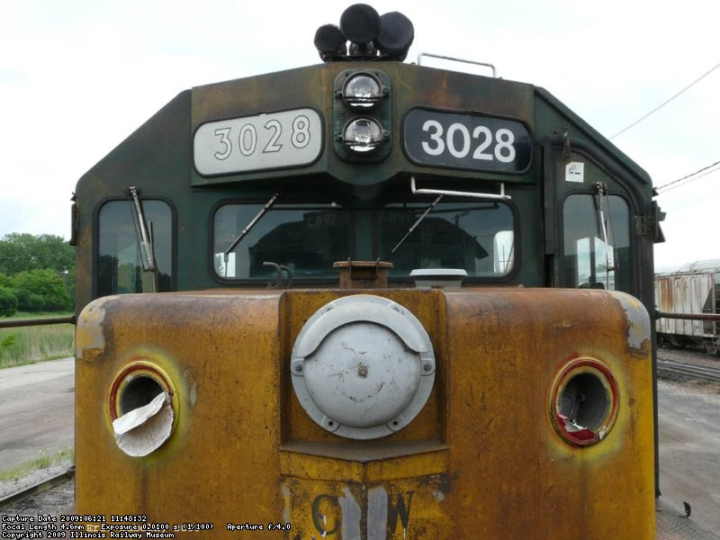 Nose view of the 6847.  We have the class light replacements in stock.