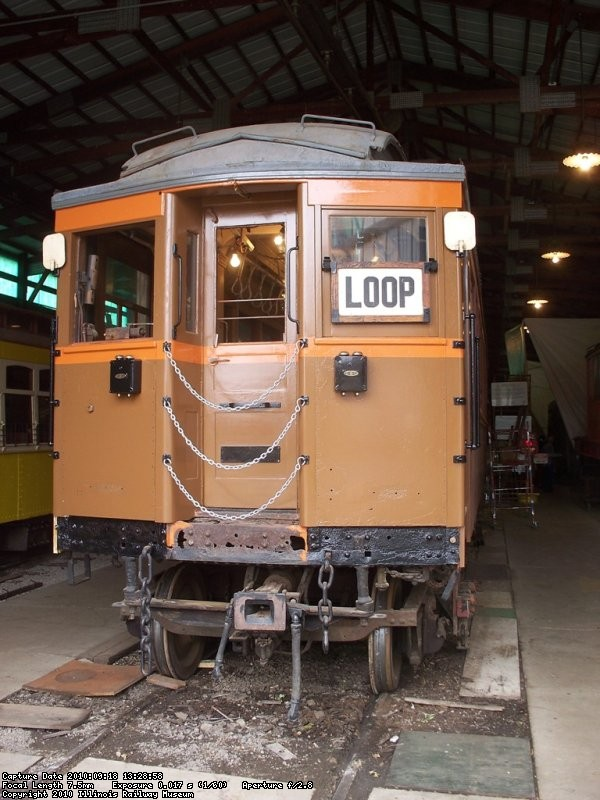 Under restoration - September 2010