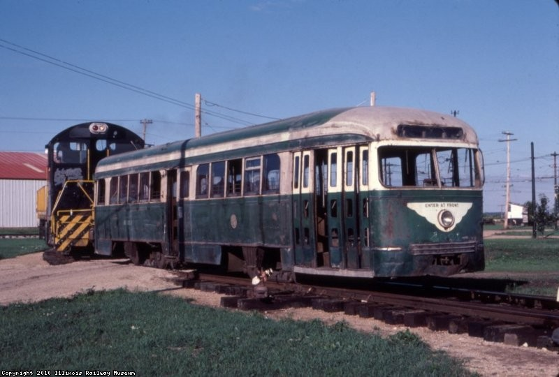 Arrival at IRM - 1985 - Photo by Bill Wulfert