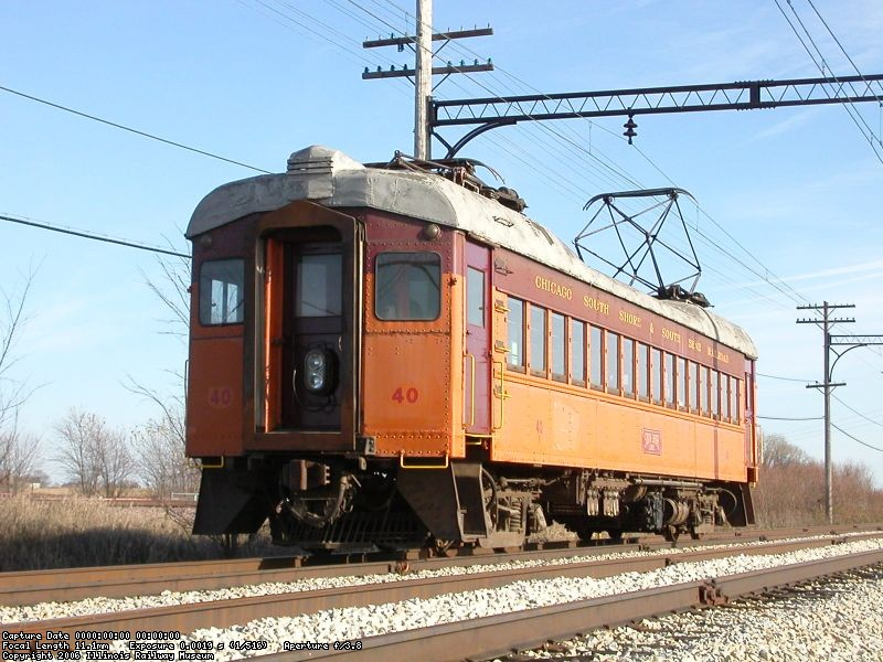 Johnson Siding - November 2004