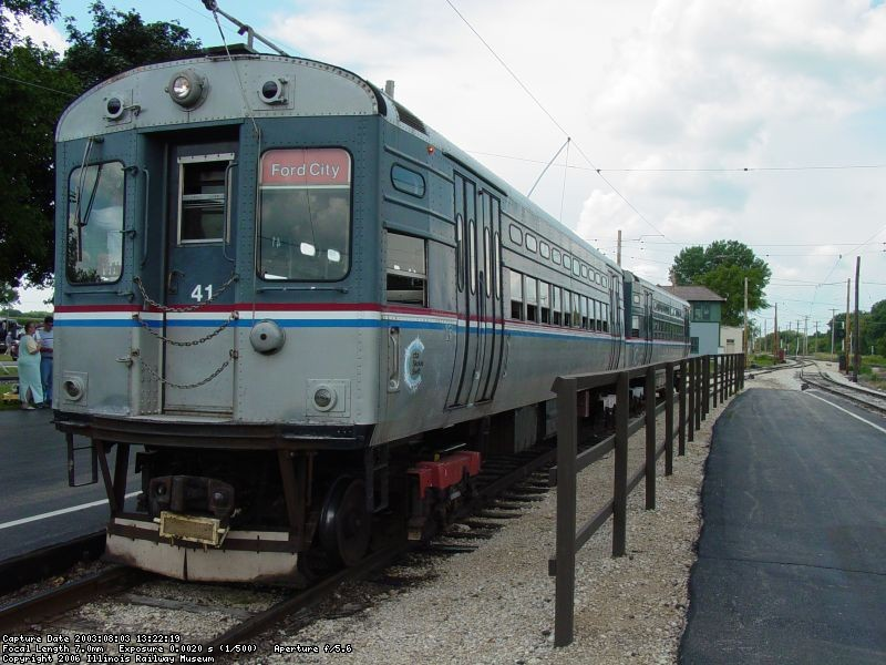 In service - August 2003