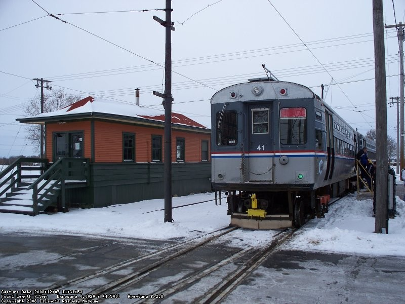 Santa Train - December 2008