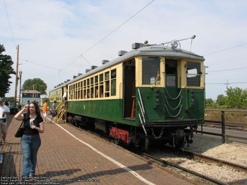 In service - September 2005