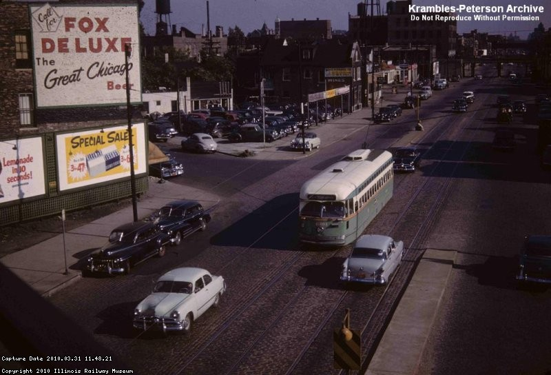 Western & Cortland, Chicago - June 1952