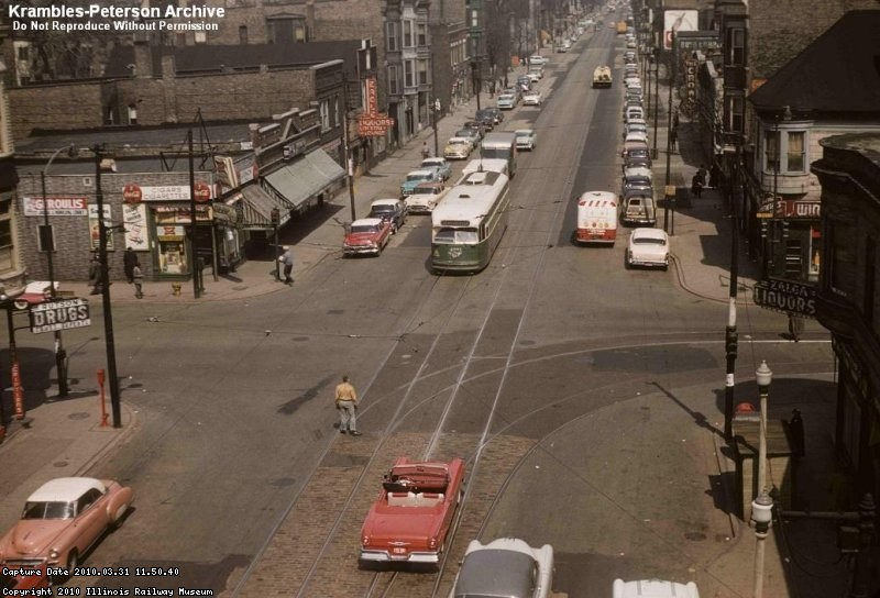 Wentworth & 59th, Chicago - 1957