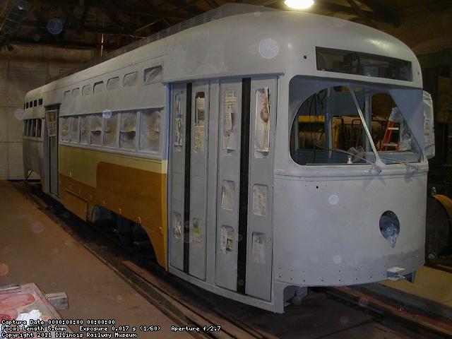 Under restoration - November 2010
