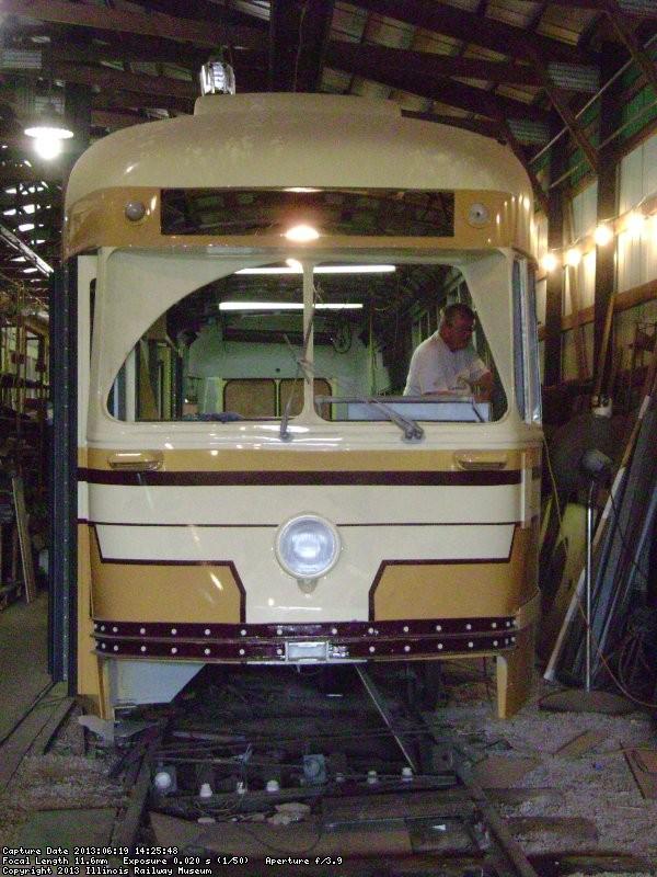 Under restoration - June 2013