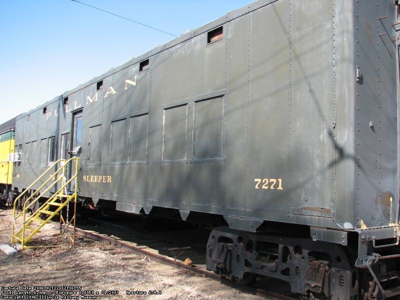 Pullman Army Troop Sleeper exterior 2