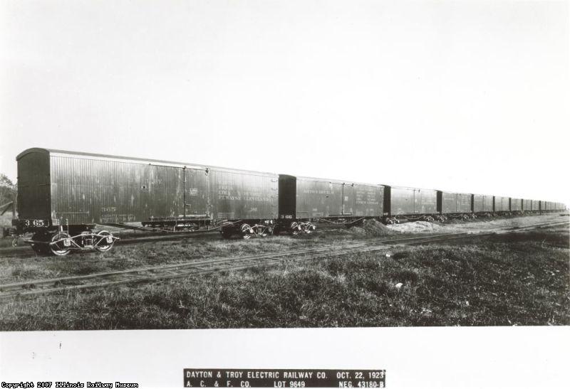 Dayton & Troy cars 365-379