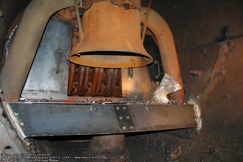 Smokebox taking shape