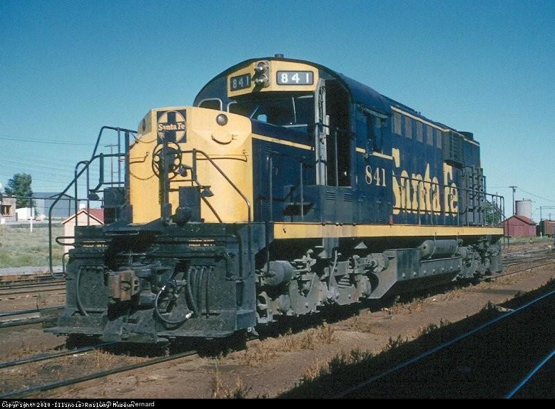ATSF 841 at Vaughn, AZ 7-15-62 Photo By Marty Bernard