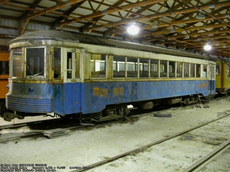 IR 205 in June 2004, before the start of restoration work