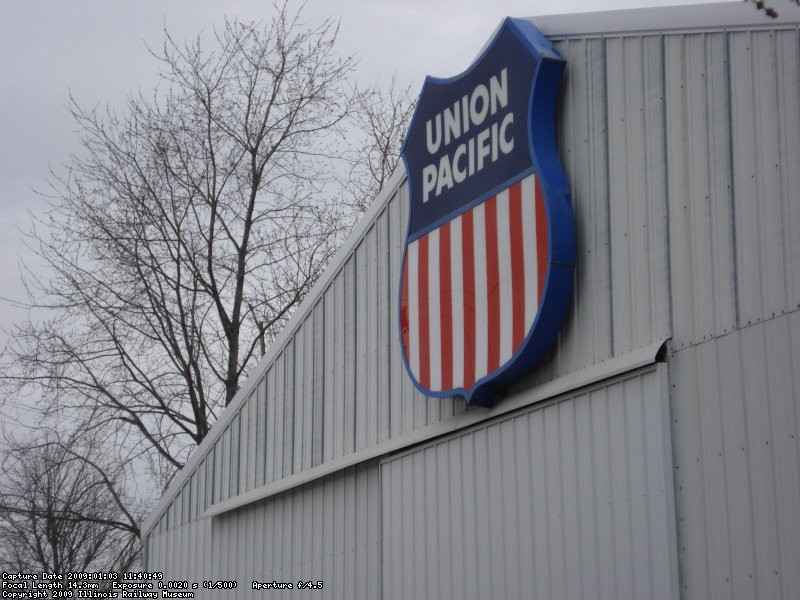 Union Pacific Sign on front of barn 3