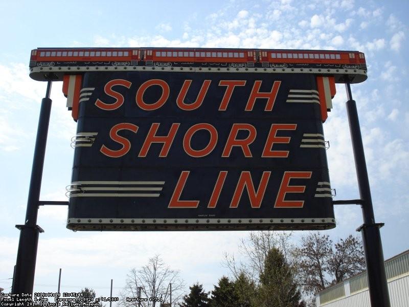 South Shore Sign between Barns 3 & 4