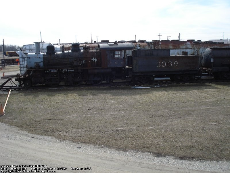 ICRR 3039 on South Steam Lead 03-29-08