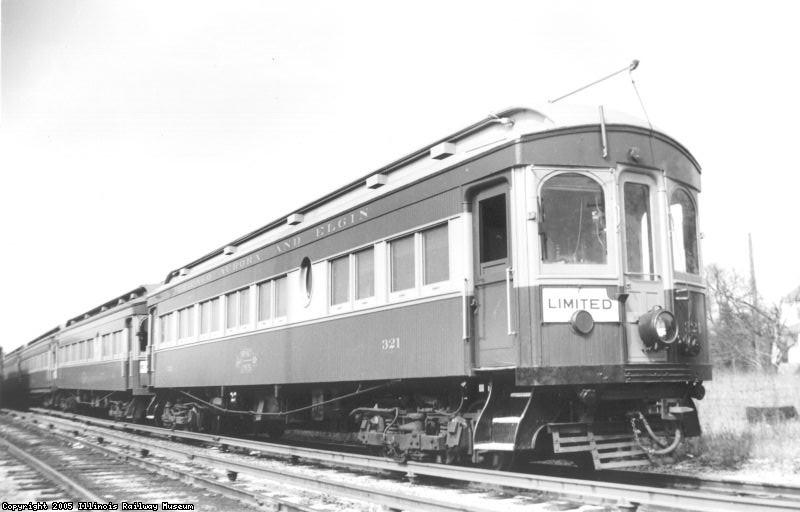 CA&E 321 in 1941 after rebuilding