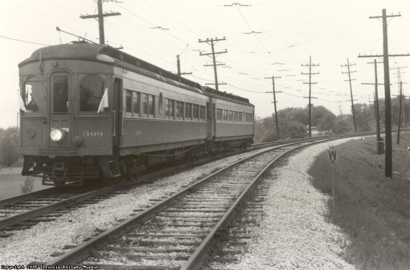 CA&E 309 in 1957