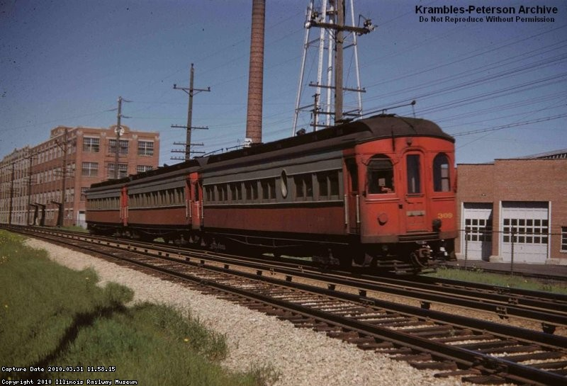 CA&E 309 WB at Ovaltine, May 1952