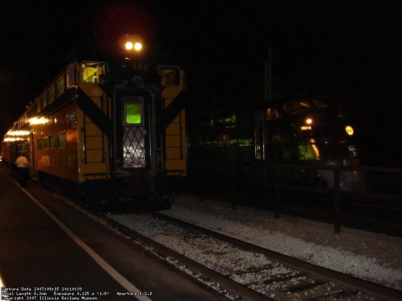 CNW 151 & CBQ 9911-A
