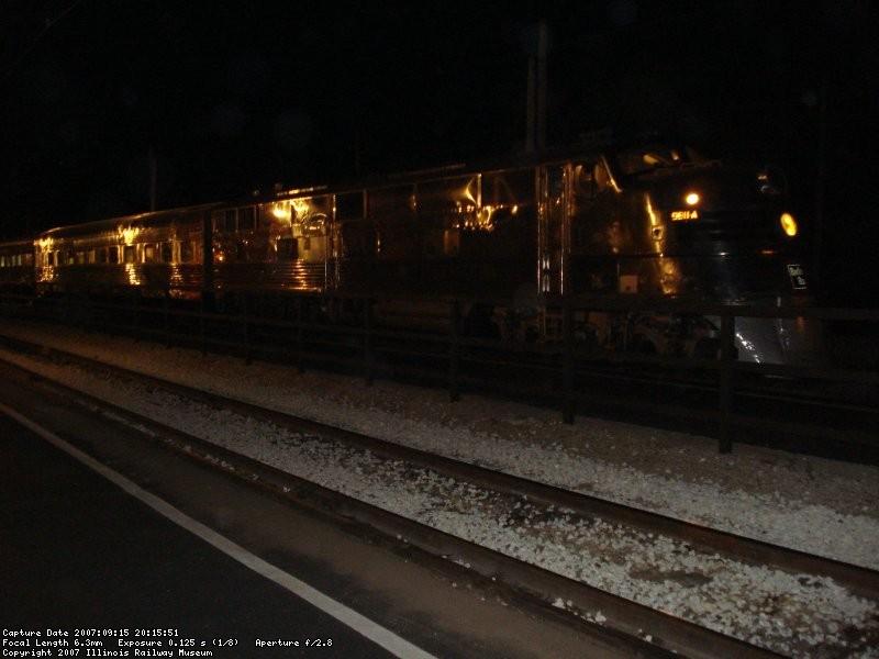 CBQ 9911-A & Silver Train