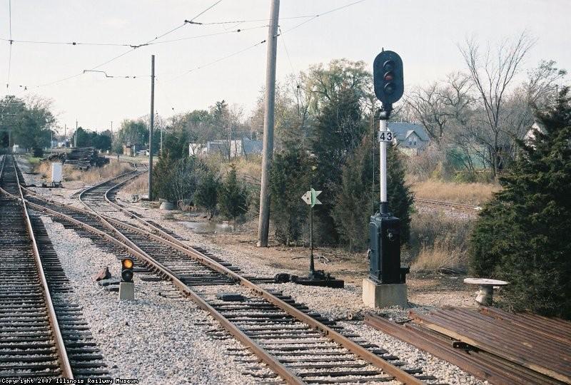 Signal 43 Westbound. US&S N-2, Chicago Rapid Transit