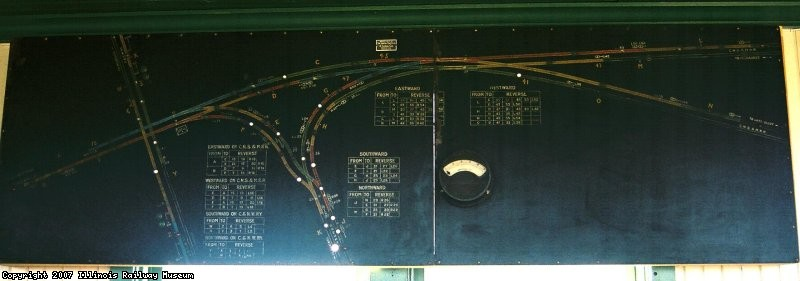 Model Board from South Upton Jct. CNS&M RR