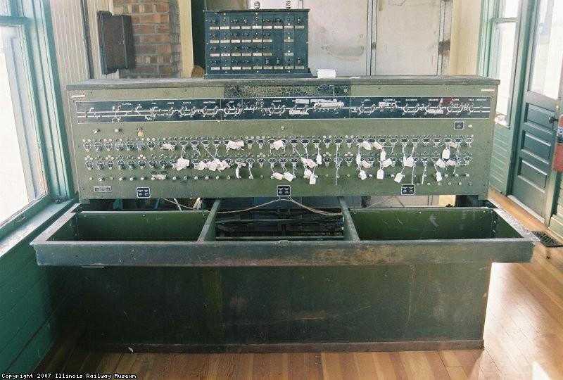 US&S CTC Machine for 81 Circuit Code System 501, Stockton to Sacramento, 1928, SPRR