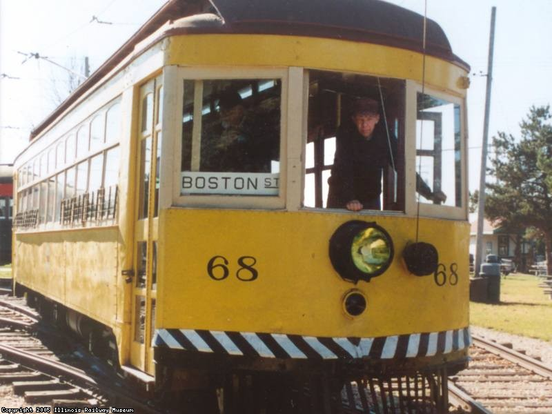 SS 68 leaving Barn 4