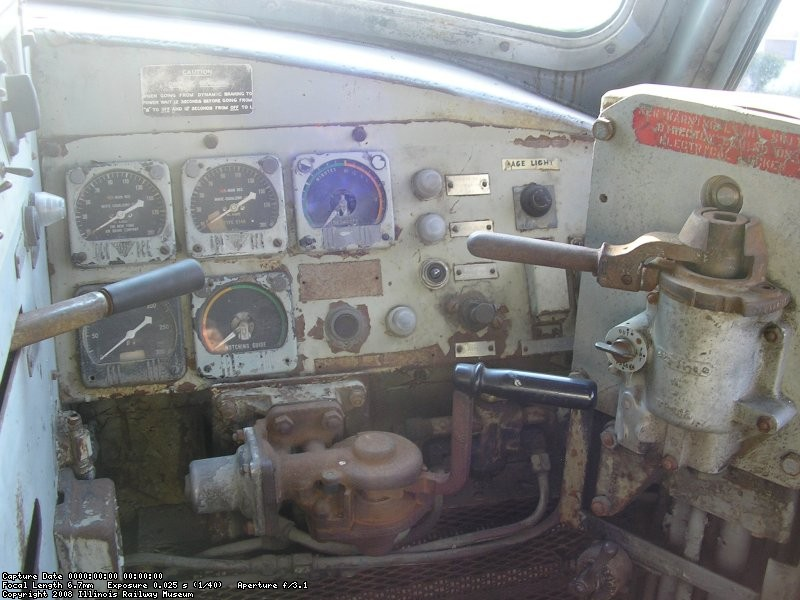Gauges, Throttle and Airbrakes, Andy Mueller Photo