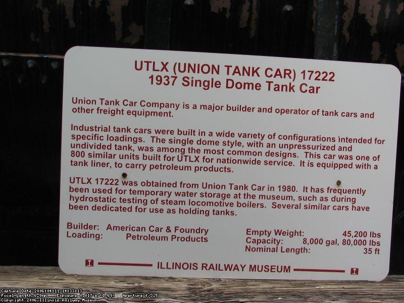 UTLX 17222