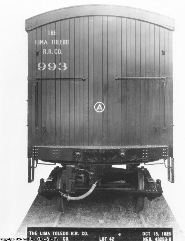 Lima Toledo RR 993 - A end
