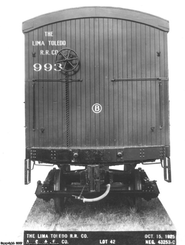 Lima Toledo RR 993 - B end