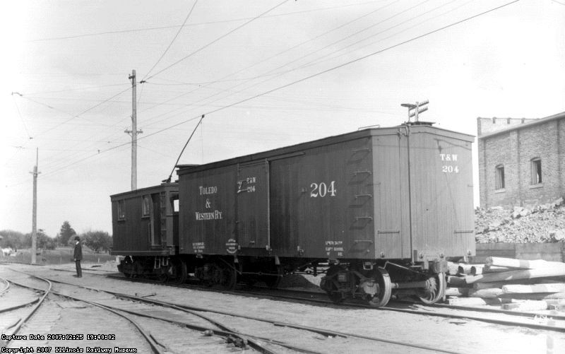 Toledo & Western 204 Boxcar
