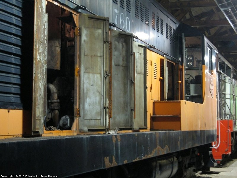 conductors side receiving its yearly inspection