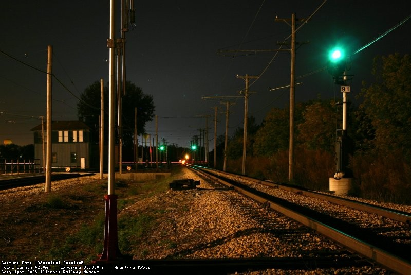 """Clear Signal 91"" no more trains tonight"