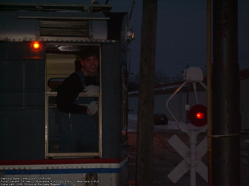Santa Train Crewmember