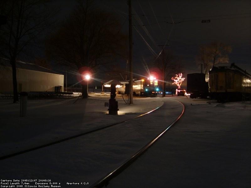 Santa Train at Depot Street
