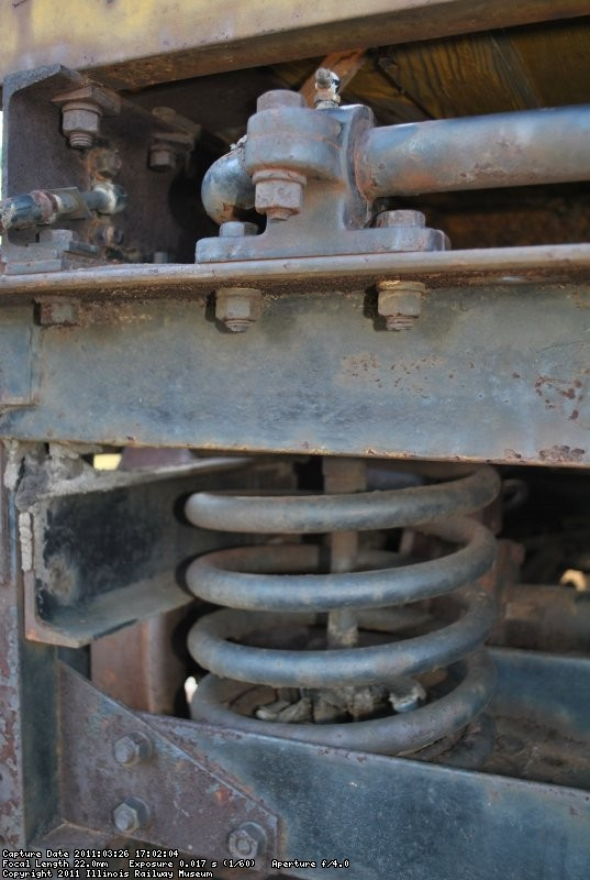 Suspension detail