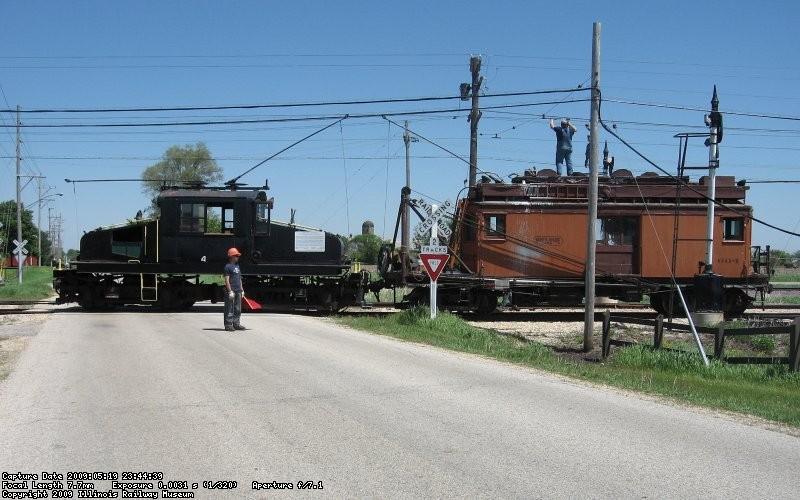 the train at Olson Rd
