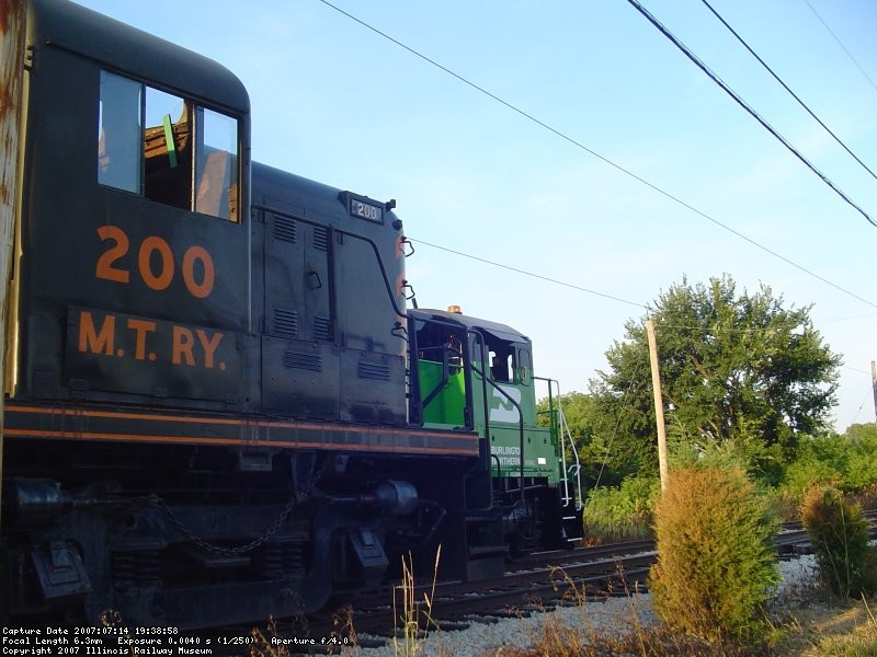 BN 5383 and MT 200 07-14-07